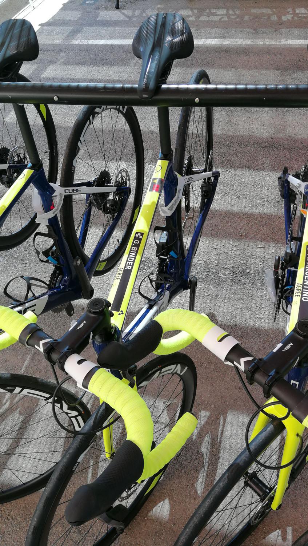 Cube Bikes Fahrradaufhängung